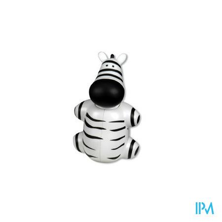Miradent Funny Animals Zebra Houder Tandenborstel 1 stuk