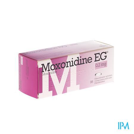 Moxonidine Eg Comp. 98 X 0,2mg