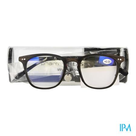 Pharmaglasses Visionblue Pc02 Leesbril +0.00 Brown