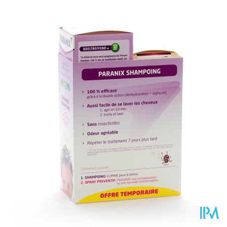Farmawebshop - PARANIX DUO SHAMPOO + PREV.SPRAY