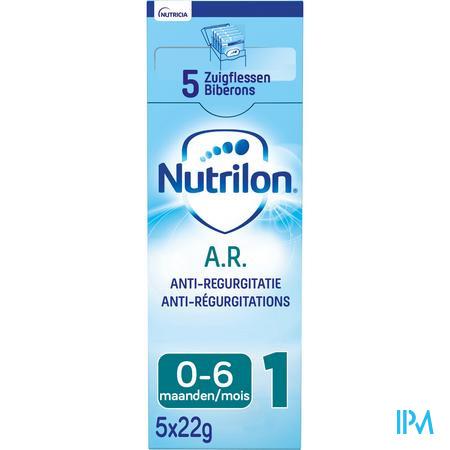 Nutrilon AR 1 Zuigelingenmelk voor maagreflux baby 0-6 maanden 5x22g