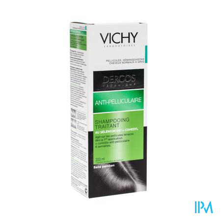 Vichy Dercos Anti-Roos Shampoo Vette Schilfers 200 ml