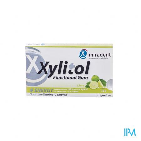 Miradent Kgom Xylitol Energy Zonder Suiker