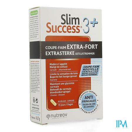 Slim Success 3+ Hongerstiller Caps 30