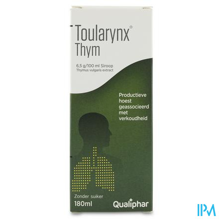Toularynx Thym Siroop 180 ml