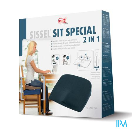 Sissel Sit Special 2in1 Wigkussen Grijs