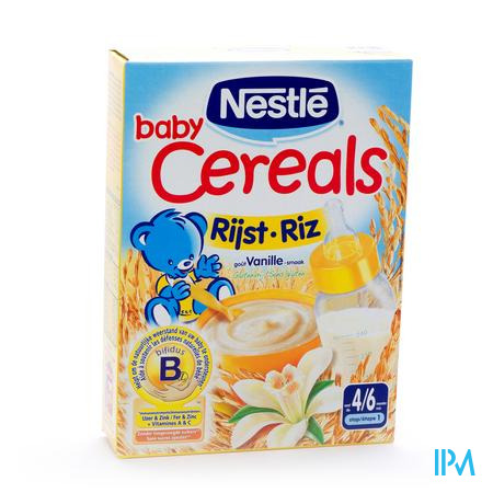 Farmawebshop - BABY CEREALS RIJST-VANILLE 250G