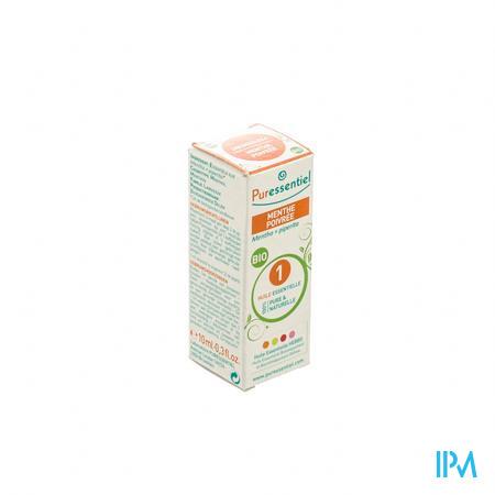 Puressentiel Expert Menthe De Poivre Bio Huile Essentielle 10 ml