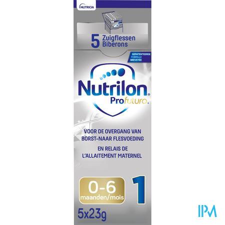 Nutrilon Profutura 1 poeder 5x23g Volledige zuigelingenvoeding