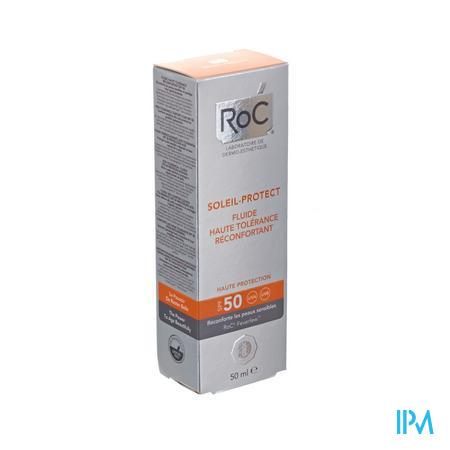 Afbeelding Roc Soleil Protect 2in1 Comfortfluid SPF50 50ml.