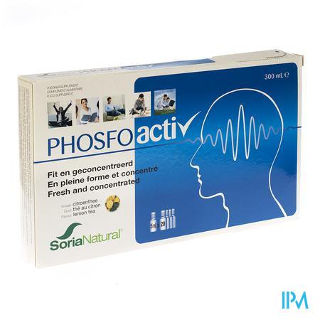 Farmawebshop - SORIA PHOSFOACTIV VIALS 20X15ML 6106
