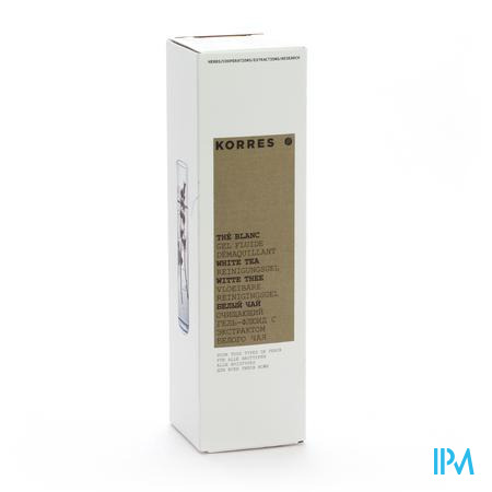 Korres Kf Reinigingsgel White Tea 200ml