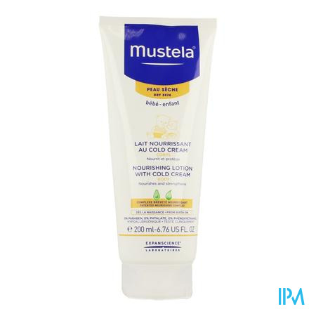 Mustela Ps Melk Voedend Cold Cream 200ml