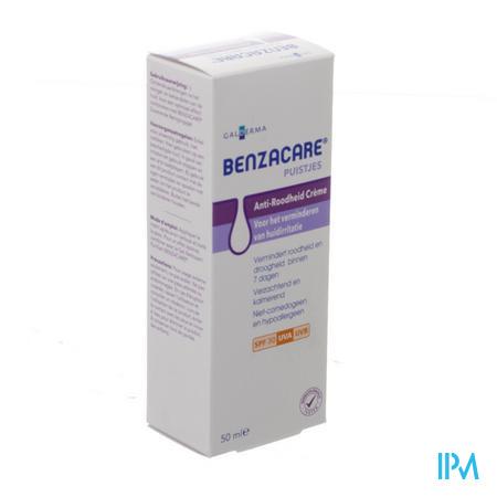 Afbeelding Benzacare Anti-Roodheid Crème met SPF 30 50 ml.