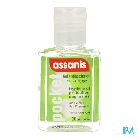 Assanis Pocket Handgel Appel-peer 20ml