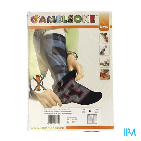 Cameleone Botte Orteils Ferme Sport Gris-Noir S 1 pièce