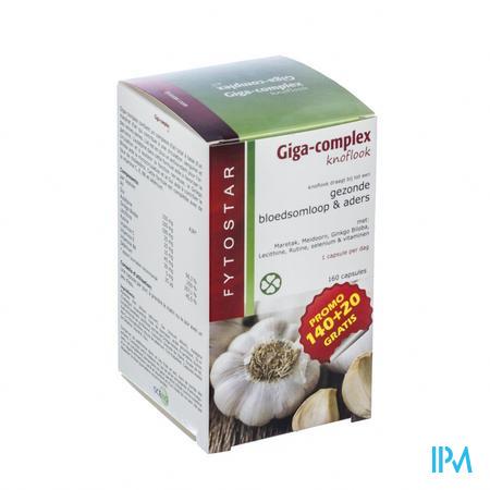 Fytostar Giga Complex Circulatie 140 + 20 capsules