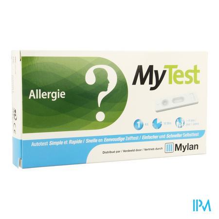 Afbeelding My Test Snelle en Eenvoudige Zelftest voor Allergie 1 Kit.