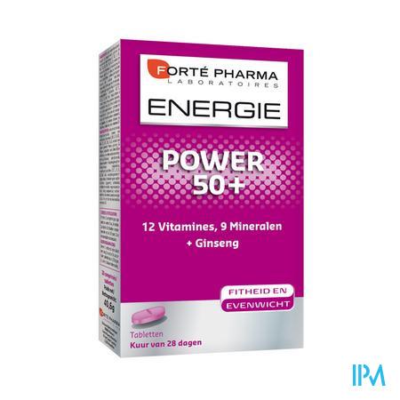 Forté Pharma Energie Power 50+ 28 tabletten
