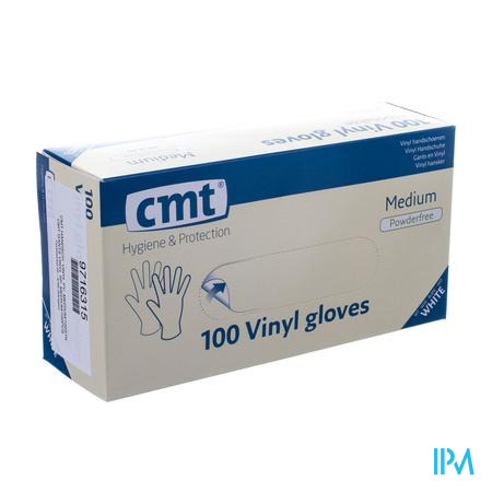 Cmt Gants Vinyl S/poudre M 100