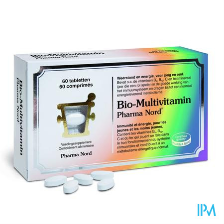 Bio-Multivitamin 60 tabletten