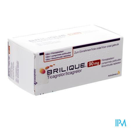 Brilique 100 Comp 90 Mg Ud