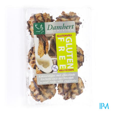 Damhert Coco Rocherz au Chocolate Sans Gluten 250 g