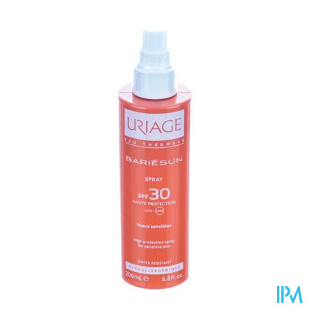 Uriage Bariesun Spray IP30 Peau Sensible 200 ml