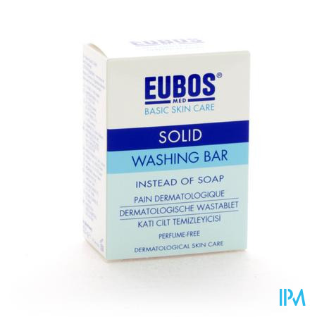 Eubos Blauw Wastablet 125 g