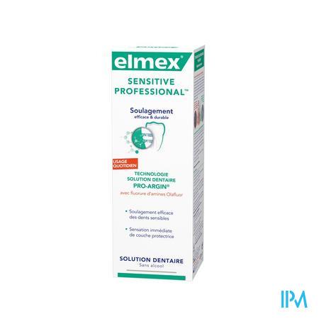 Elmex Sensitive Prof Bain Buccal 400 ml