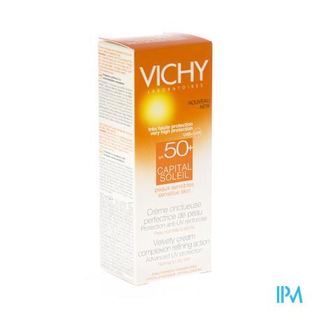 Vichy Capital Soleil Creme Solaire Peau Sèche Spf 50+ 50 ml