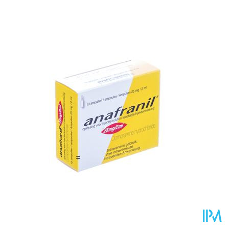 Anafranil Amp Inj 10 X 25mg/2ml