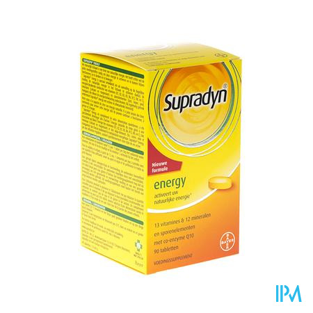 Supradyn Energy Co Q10 90 tabletten