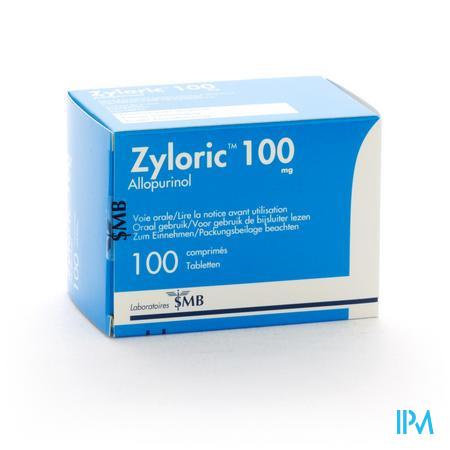 Zyloric 100 Comp 100 X 100mg