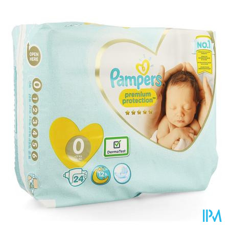 Pampers Premium Protection Carry Pack S0 24