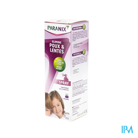 Paranix Spray Avec Peigne 100 ml