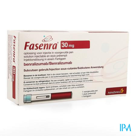 Fasenra 30mg Opl Inj Voorgev.pen Auto Injector 1