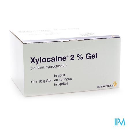 Xylocaïne 2% 10 x 10 g seringue