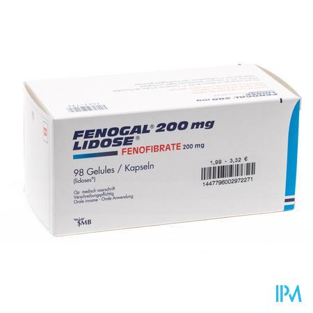 Fenogal Lidose Capsule 98 X 200 mg