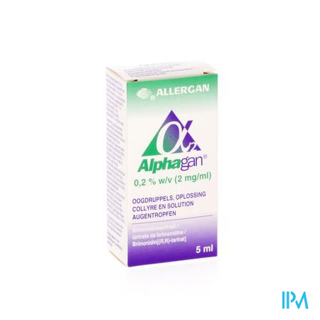 Alphagan 0,2% Collyre 1x5ml