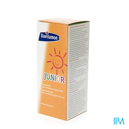 Davitamon Junior +1jaar Vloeibare Vitamines 150ml