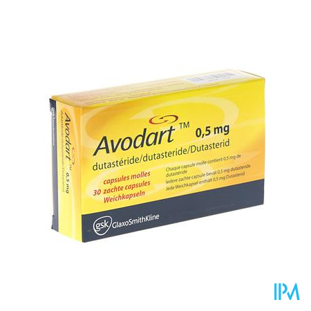 Avodart Pi Pharma Comp 30x0,50mg Pip