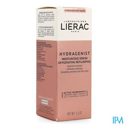 Afbeelding Lierac Hydragenist Sérum Hydratant Hydraterend Serum voor Extra Zuurstof en Vollere Huid Flacon 30 ml.