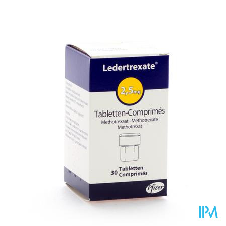 Ledertrexate Comp 30x2,5mg