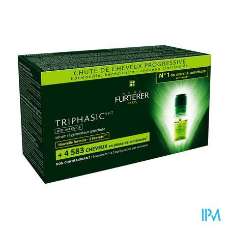 Furterer Triphasic VHT ATP Antensif 8 x 5.5 ml ampoules