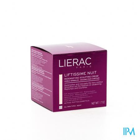 Afbeelding Lierac Liftissime Nuit Modellerende Nachtcrème voor een Compactere Huid voor Alle Huidtypes Pot 50 ml.