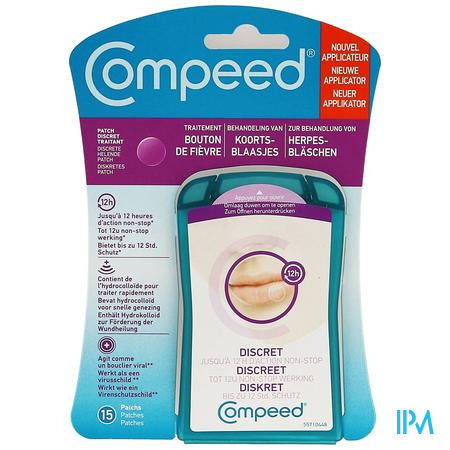 Compeed Patch Koortsblaasjes 15 Met Applicator