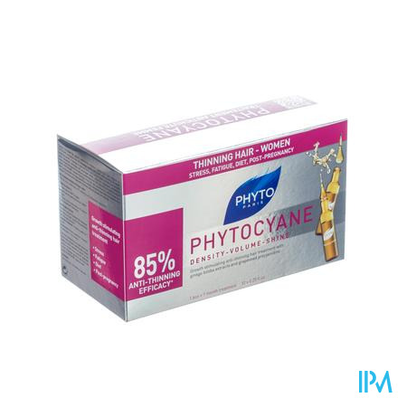 Phyto Phytocyane Anti-Haaruitval 12 ampoules