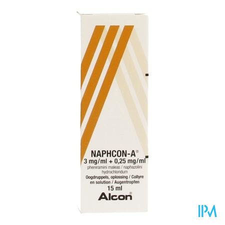 Naphcon A Collyre 15ml