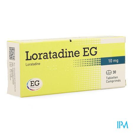 Loratadine EG 10 mg Comprimés 30 X 10 mg
